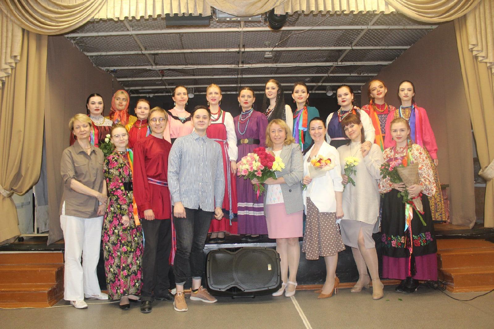 В ЧГИК прошел концерт фольклорного ансамбля «Радованье»